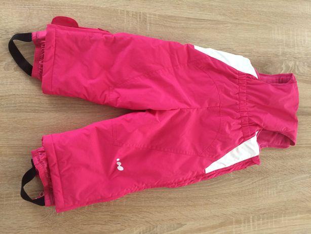 Spodnie narciarskie Wedze 12 miesięcy rozmiar 80