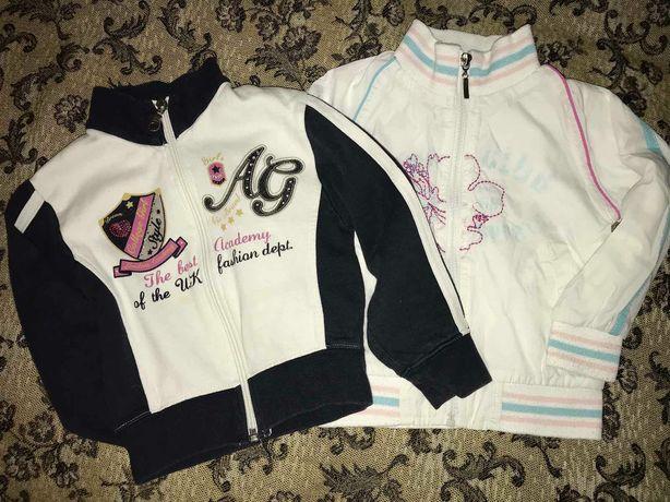 Ветровка и кофта, комплект на девочку 2-3 года