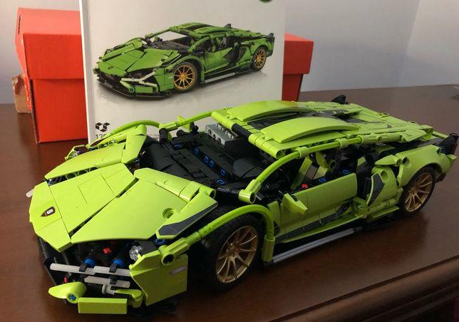 Samochód Klocki Budowlane Lego Technik bardzo duży model OKAZJA !