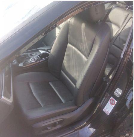 Салон сидушки потолок чорний під панораму  F10 F11 BMW есть електро