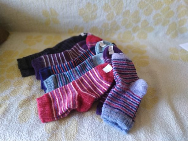 Тёплые носки детские и взрослые