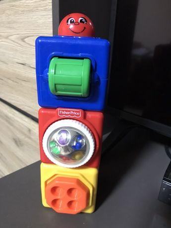 Кубики Fisher Price, развивающая игрушка