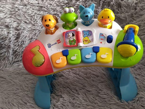 Pianino  Animals Tune Smyk pianinko kształty odgłosy edukacyjna