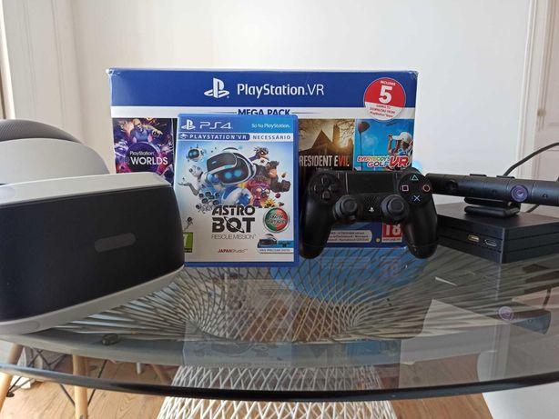 Playstation VR + Jogo Astro Bot