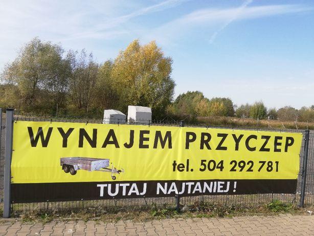 Wypożyczalnia Przyczep Wieluń/ Wynajem / Przyczepy / Laweta