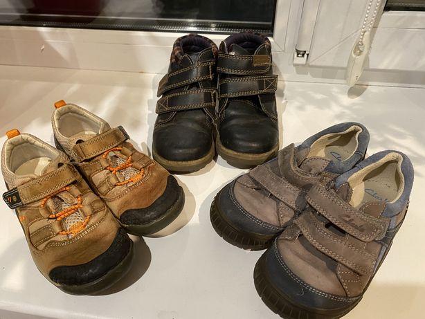 Детские ботинки кроссовки clarks