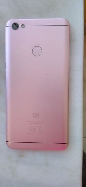 Smartphone Xiaomi Redmi Note 5A Prime Rose Gold Desbloqueado