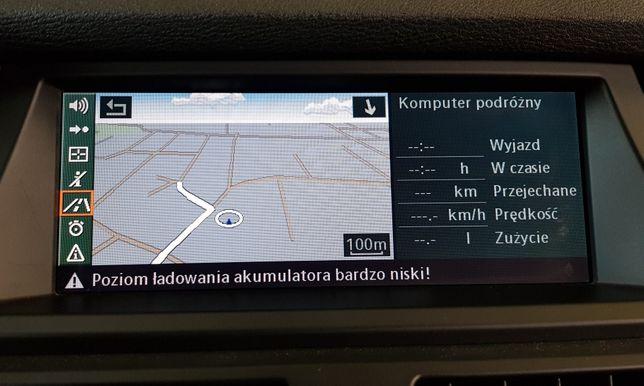 Naprawa Nawigacji BMW - CCC CIC NBT NBT EVO PL menu Aktualizacja Map