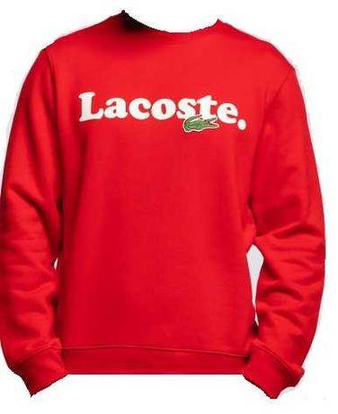 Nowa Bluza Lacoste rozmiar XL czerwona