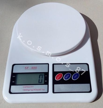 Весы кухонные электронные Electronic SF-400 до 10кг точность 1 грамм