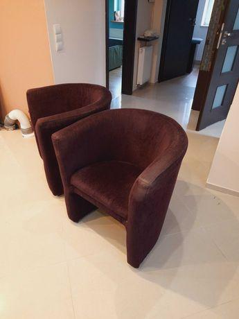 Fotele kubełkowe tapicerowane