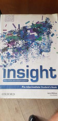 Oxford insight Pre-Intermediate Student's Book- podręcznik
