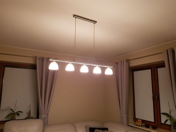 Lampy 3-kloszowe i 5-kloszowe.