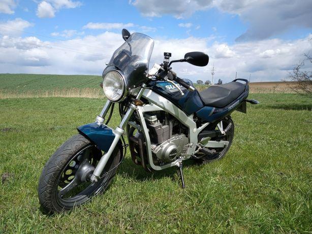 Motocykl Suzuki GS 500 E na kat A2 odblokowany!