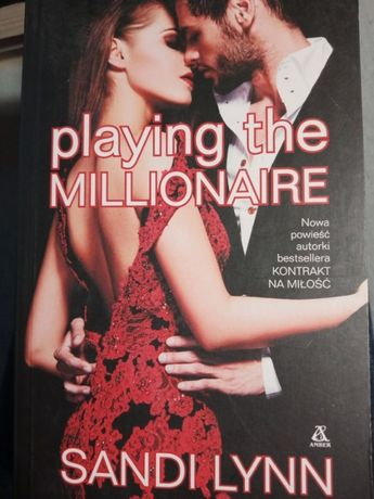 "Książka ""Playing the Millionaire"" Sandi Lynn"