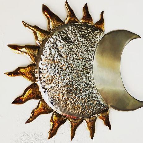 Decor słońce i księżyc ozdoba ślub ścianka ślubna