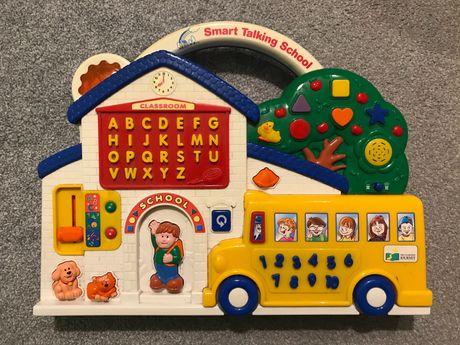 Smart Talking School Zabawka edukacyjna po angielsku, mówi, gra