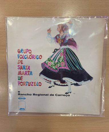 "Disco Vinil ""Gr. Folclorico Santa Marta de Portuzelo""(Usado)"