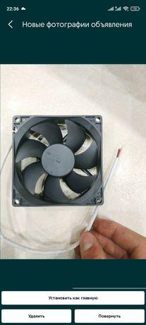 Вентилятор 92х92х25мм 12вольт турбированый