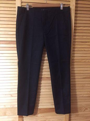 Zara czarne spodnie