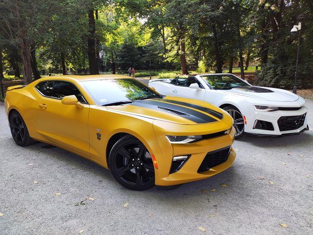Auto do ślubu Chevrolet Camaro 2SS V8 6.2L Bumblebee z Transformers