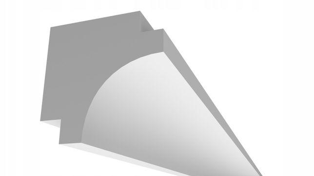 Osłona Karnisza - Seria 2L / Gzyms XPS 80x80mm