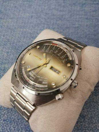 Zegarek Orient Cesarski Królewski Patelnia Cinkciarz Multi kalendarz