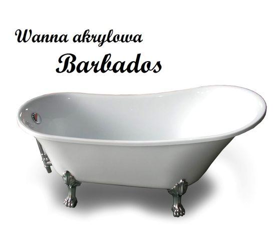 Wanna wolnostojąca RETRO BARBADOS 162x71 cm