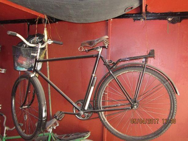 советский велосипед УКРАИНА в отличном состоянии. Крашеный.