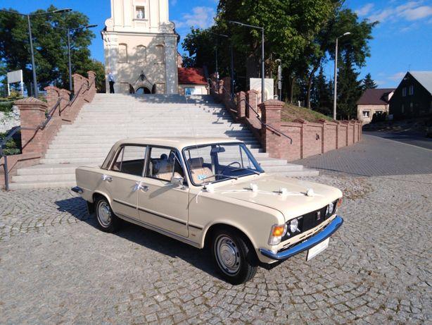 Auto do Ślubu- Fiat 125p 1300 z 1976r.