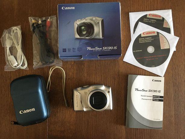 Aparat cyfrowy Canon PowerShot SX130 IS + karta 16GB + dedykowane etui