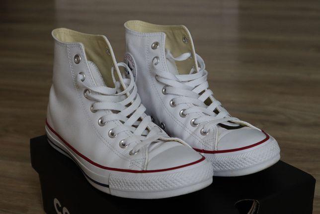 Кеды Converse белые кожа 41.5