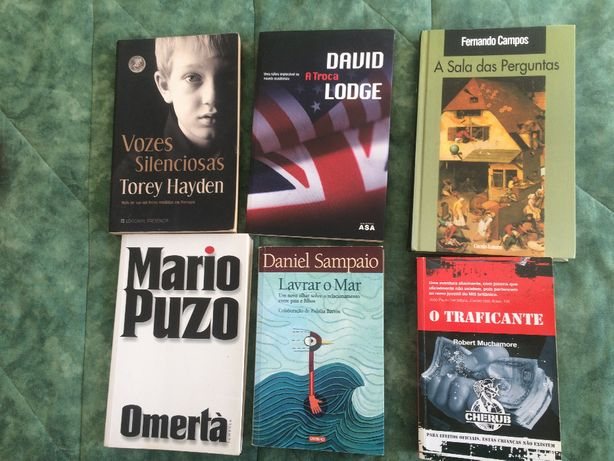 livros varios