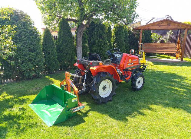 Mini traktor koszenie, przygotowywanie pod trawnik, usługi ogrodnicze,