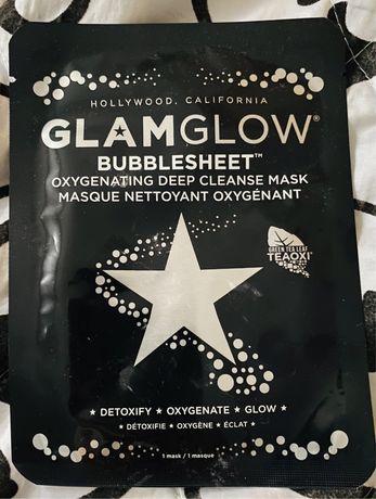 GlamGlow maseczka do twarzy w płachcie oczyszczajca