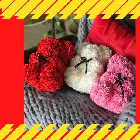 Мишки из роз - САМОВИВІЗ Львів - ведмедики із троянд