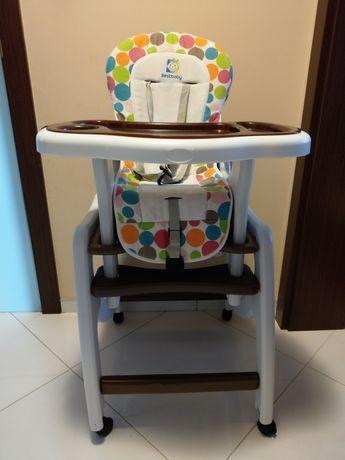 Krzesełko, fotelik, stolik do karmienia