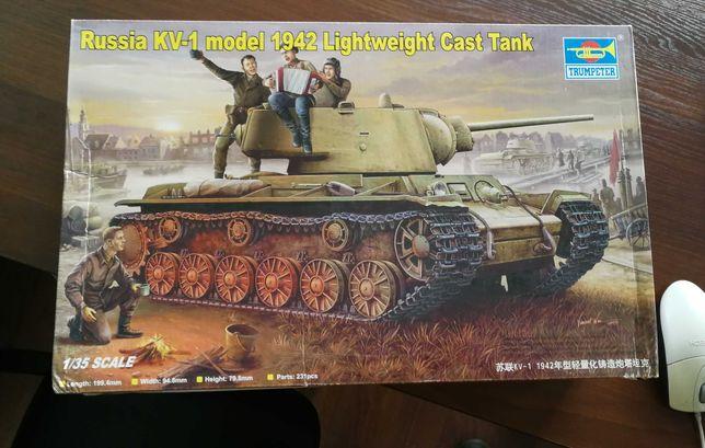 Nowa model do sklejania KV-1