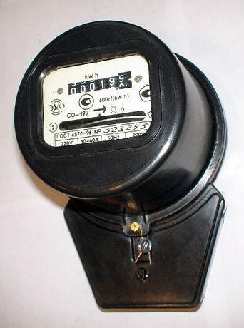 Счётчики электрические, дисковый, электронные