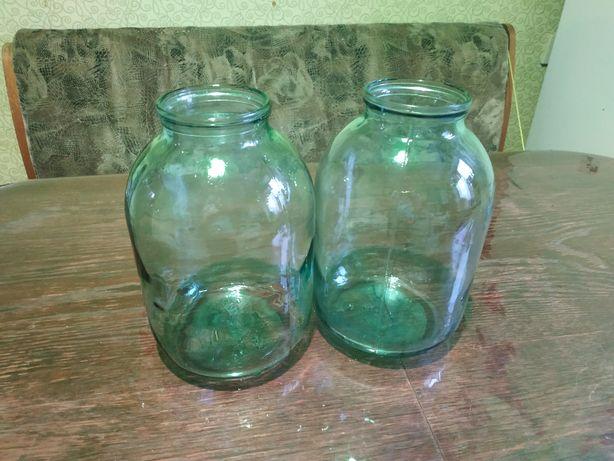 Бутыля, банки 3-х литровые