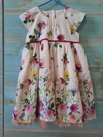 Платье на годик 80-86 размер