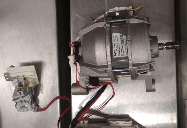 Мотор Nidec+плата Vtech+деталі з пральної машини Indesit нові якість