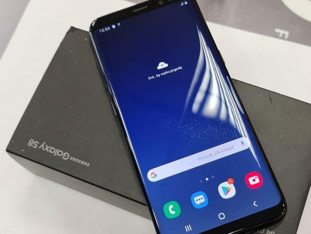 Samsung Galaxy S8/ Czarny/ Ładny/ 100% sprawny/ Gwarancja/ Gdynia