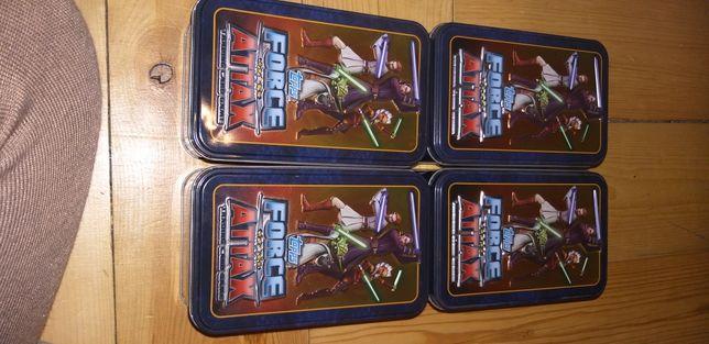 Karty star Wars w puszcze metalowej