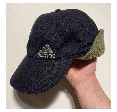 Кепка Adidas Vintage Винтаж Утепленная (nike stone island napapirji)