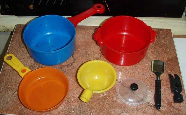 Детская посуда игрушки набор из 7 штук