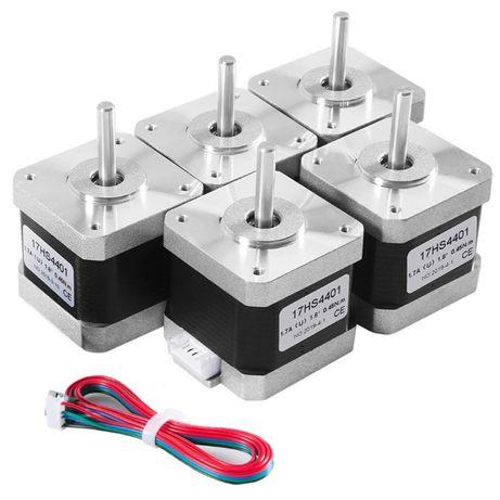 Шаговый двигатель Nema17 для 3D-принтера, лазерного, фрезерного гравер