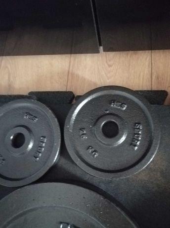 Obciążenie żeliwne HES-55kg