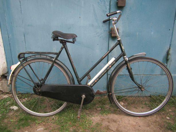 """Велосипед ретро дамка на 26"""" без передач, из Голландии - обмен."""