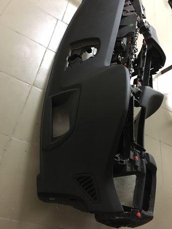 Торпеда панель BMW X5 F15 hud черная